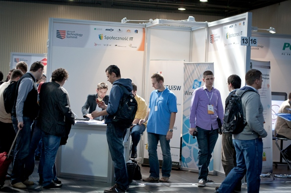 Microsoft Technology Summit 2011 - Stoisko Społeczności IT